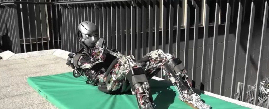 Scientists Have Built a Robot That Actually Sweats While Exercising