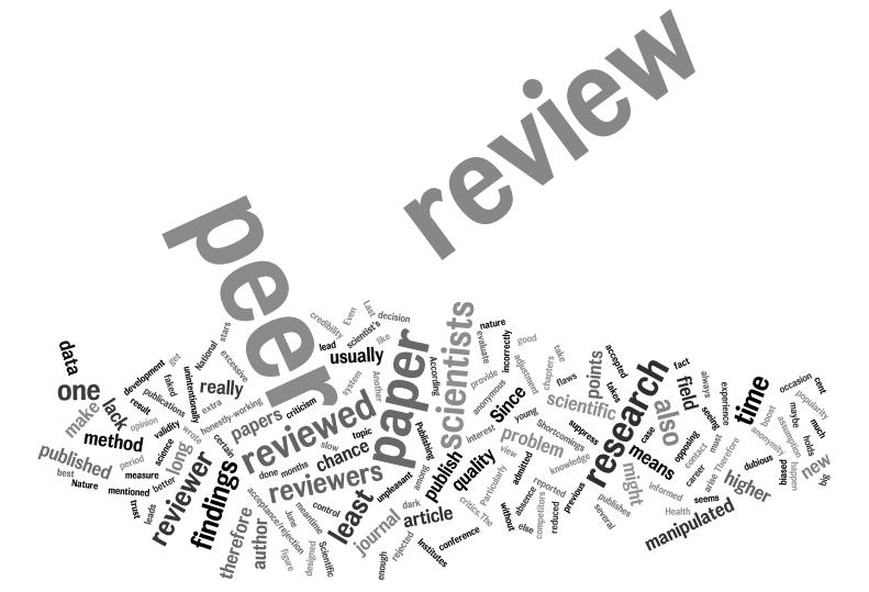 Sciencedomain provide transparent advanced open peer review