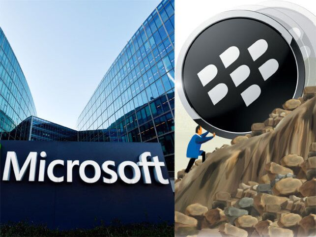 Microsoft joins hands with BlackBerry to secure productivity apps on phones