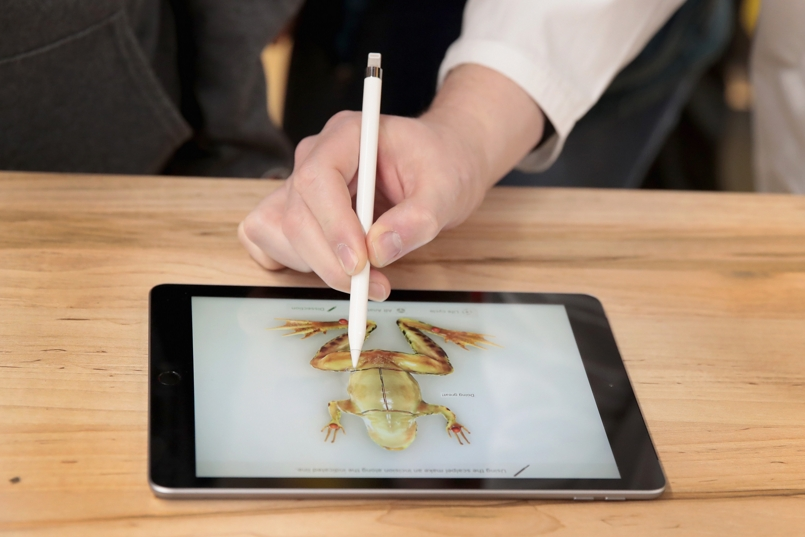 Apple's new 9.7-inch iPad wants to take on Chromebooks, but the Indian student prefers laptops