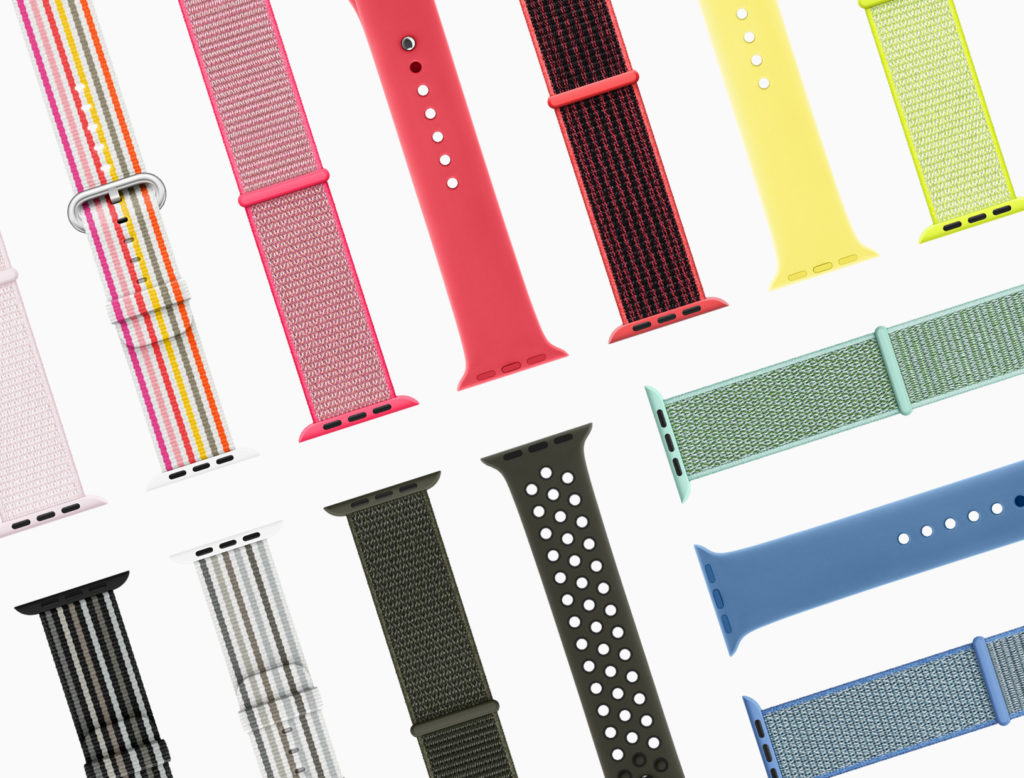 New Apple Watch bands feature spring colours and styles