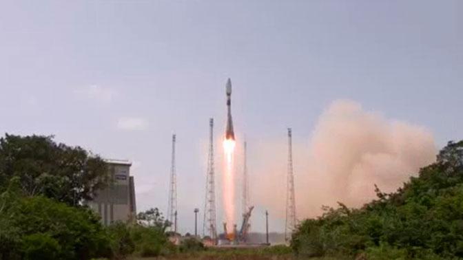 Soyuz Rocket Launches 4 New O3b Communications Satellites Into Orbit