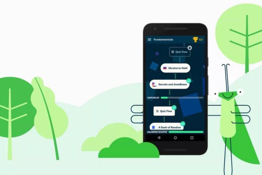 Grasshopper is an app for learning JavaScript through mini-games