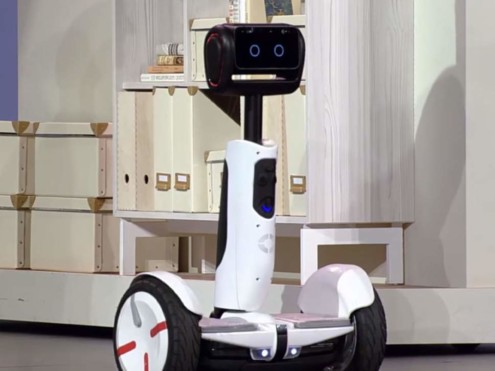 CES 2016: INTEL AND SEGWAY HAVE TEAMED UP TO CREATE A HOVERBOARD ROBOT BUTLER