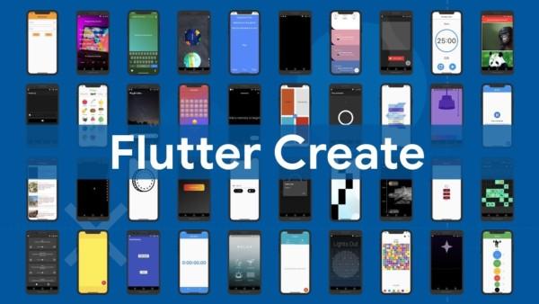 "Flutter Create's huge winner could be a self-taught ""beginner"""