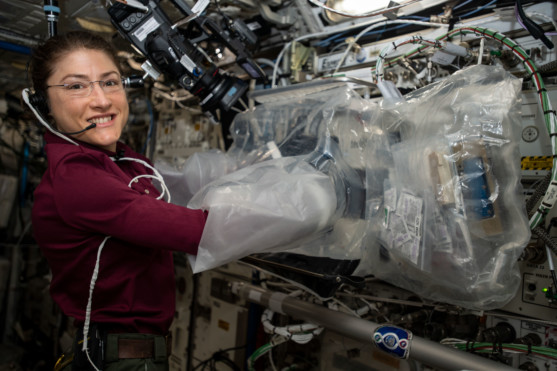 North Geographic Area Students to talk with NASA Cosmonaut on Space Platform