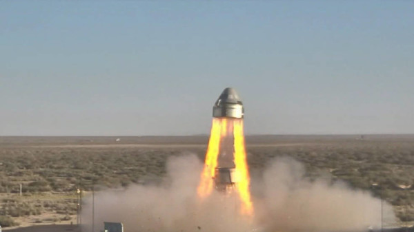 Boeing's Starliner Completes Pad Abort Test for Commercial Crew