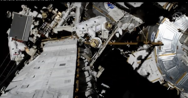 In-Space News Conference to Review First All-Woman Spacewalk