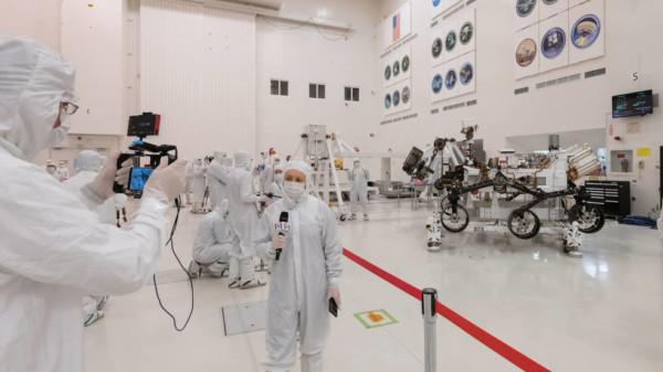 Media Meet NASA's Mars 2020 Rover and Builders