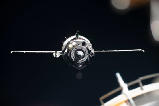 NASA TV to Air Landing of Record-Setting Astronaut Christina Koch, Crewmates