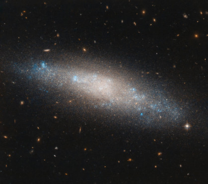 Hubble Sights Galaxy's Celestial Sequins