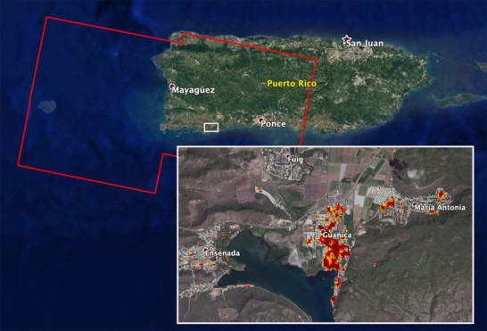 NASA's ARIA Team Helps in Puerto Rico Quake Response
