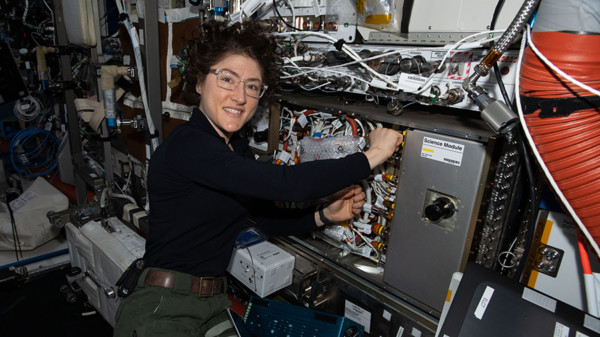 Station Preps for Crew Departure and New U.S. Cargo Ship